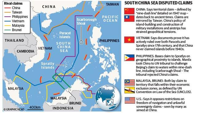 South China Sea territorial dispute explained: what it ...