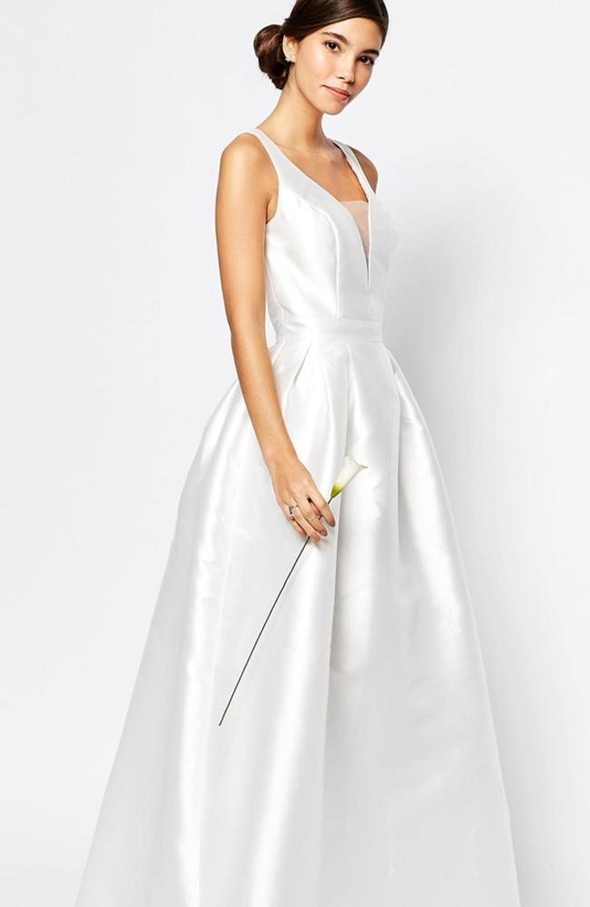 Wedding Dresses HampM And ASOS Put Cheap And Chic Gowns On
