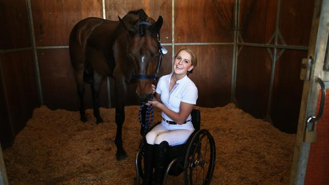 Emma Booth Equestrian Rider Ready For A Spot In The