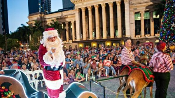 Brisbane City, Queen St Mall Christmas Parade to be ...