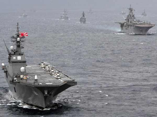 Growing Japanese navy to display might in the Pacific again