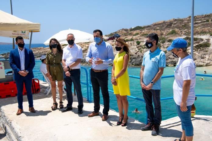 Konferenza stampa Ħondoq ir-Rummien