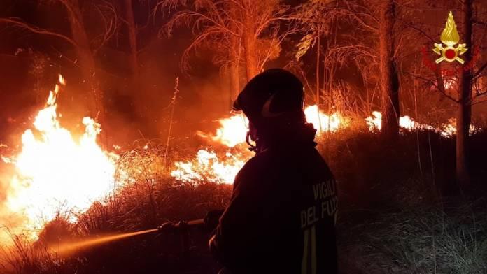 sardegna fires