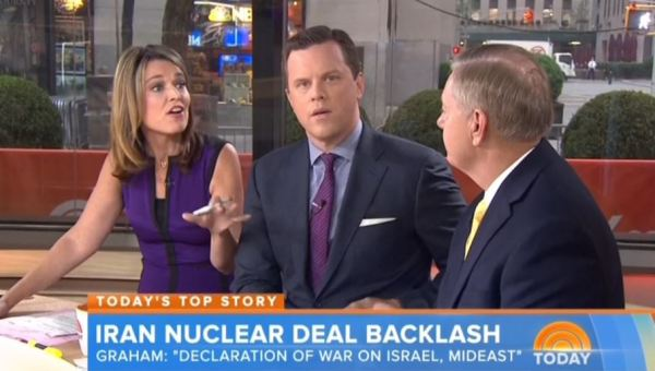 NBC to Sen. Graham: GOP Criticism of Iran Deal Just 'Fantasy'?
