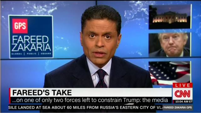 CNN: Trump Is a 'Danger to American Democracy,' Media Are Saviors