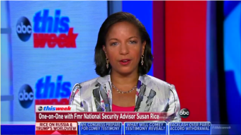 Stephanopoulos Tees Up Lying Rice To Smear Trump Administration