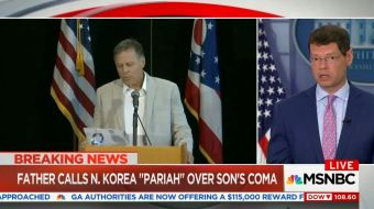 Father of North Korean Hostage Criticizes Obama, MSNBC Says He's Not 'Politically Sophisticated'