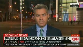Limbaugh Hammers 'Little Jim Acosta' 'Making a Fool of Himself'; CNN Is 'A Circular Firing Squad'