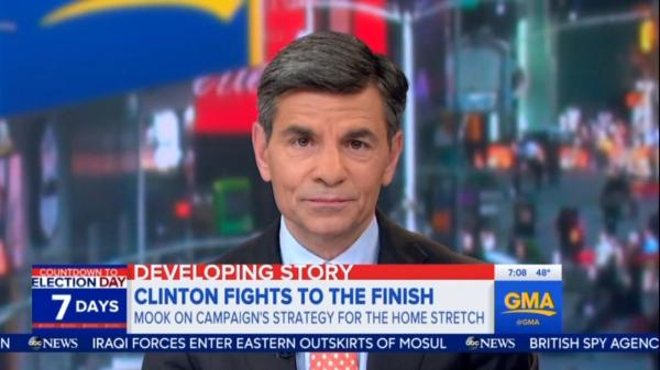 Stephanopoulos Bored by Clinton's FBI Investigation ...