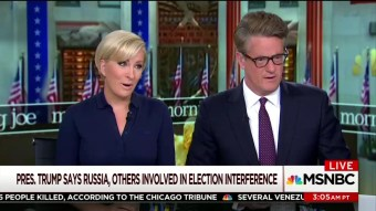 Morning Joe Freaks Out At Trump For Criticizing Obama Overseas While Seemingly Forgetting About Apology Tour