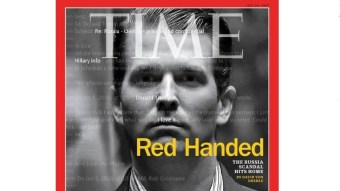Time Adored Russia Under 'Man of the Decade' Gorbachev, Now Trump Jr. Is 'Red Handed'