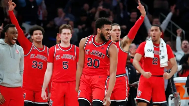 St. John's scores last 23 points to beat Georgetown in the Big ...