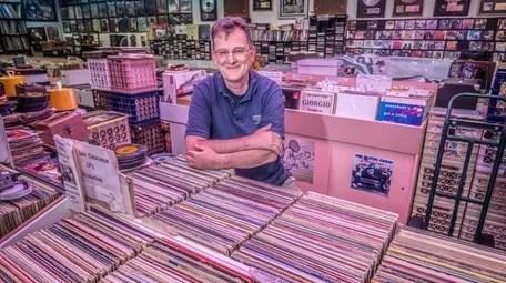 Joe Ostermeier owns Infinity Records in Massapequa Park.