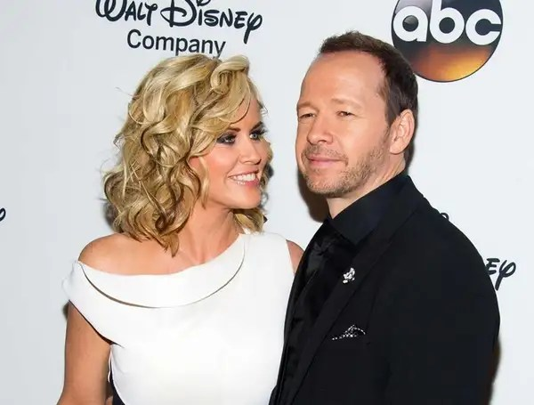 "Jenny McCarthy and Donnie Wahlberg at ""A Celebration"
