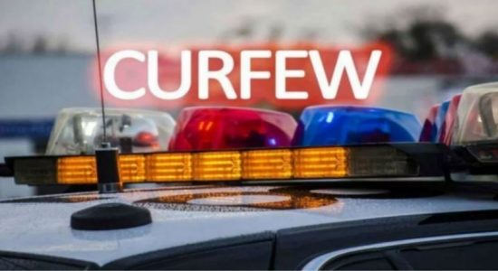 More than 1000 people arrested for violating the curfew