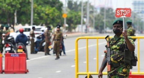 Sri Lanka declares island-wide curfew from tomorrow
