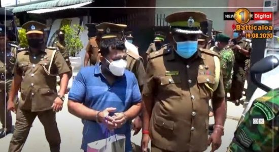 "(VIDEO) ""Pillayan"" escorted to Colombo to attend 01st sitting of Parliament"