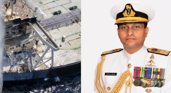 MT New Diamond blaze contained; Sri Lanka Navy Commander