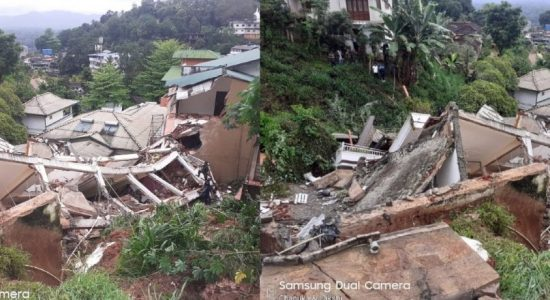 Infant rescued after Kandy building collapse has died; Search and Rescue continues