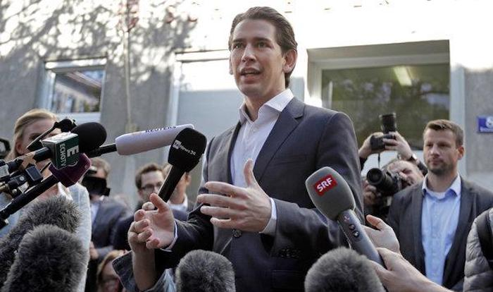 """Austrian Chancellor Sebastian Kurz has announced plans to turn the nation's migrant welcome centers into migrant """"departure centers."""""""