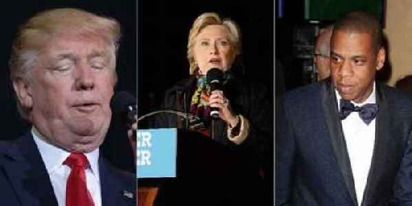 "Donald Trump Attacks Jay Z Over ""Bad Language"" at Hillary ..."