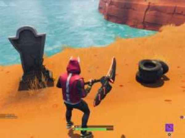Fortnite's creators placed a tombstone Easter egg in the ...