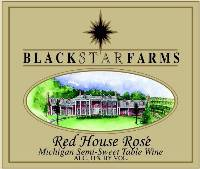 Red House Rose rose wine label
