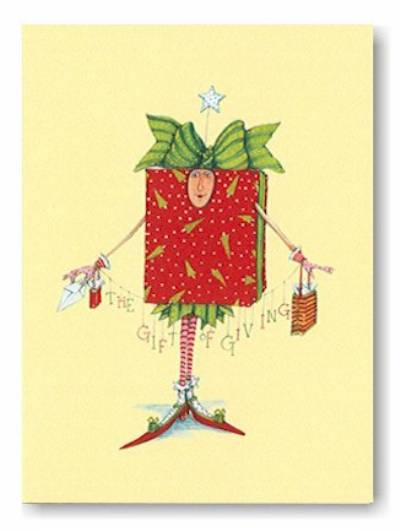 Patience Brewster Christmas Cards All Wrapped Up At