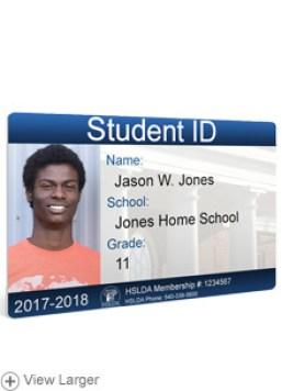 Homeschool ID badges  HSLDA