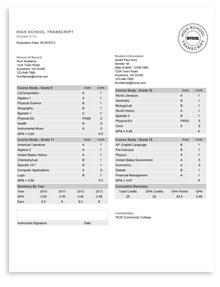 High School Transcripts | HSLDA Store