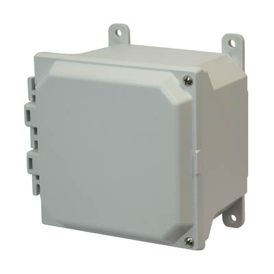 Buy 6x6x4 Fiberglass Enclosure   AMU664H on Outdoor Water Softener Enclosure  id=56960