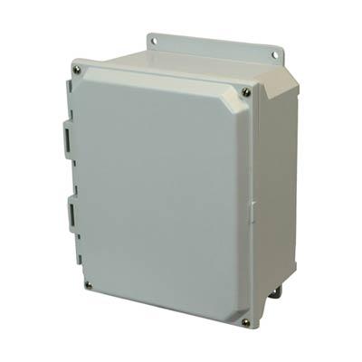 Buy 8x6x4 Fiberglass Enclosure   AMU864F on Outdoor Water Softener Enclosure  id=12613