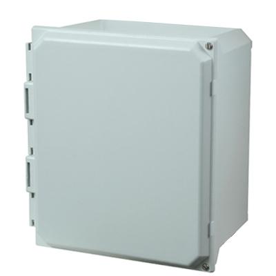 Buy 12x10x6 Fiberglass Enclosure   AMU1206H on Outdoor Water Softener Enclosure  id=15919
