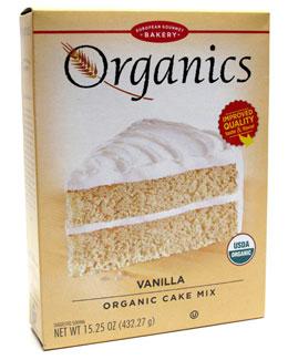 Organic Vanilla Cake Mix by European Gourmet Bakery