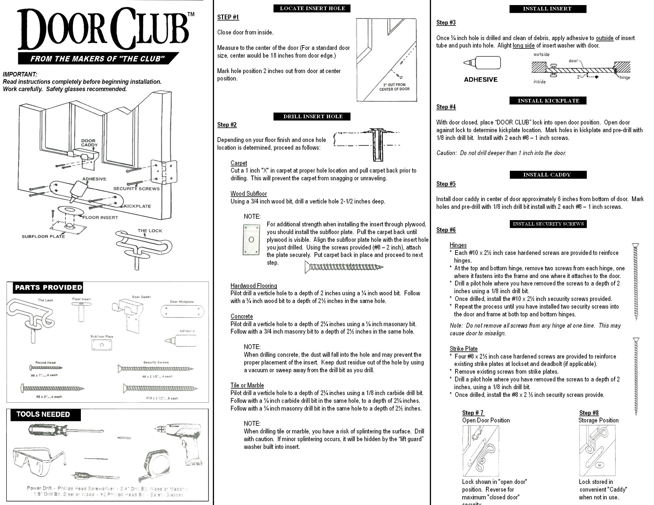 The Door Club Winner International Online Store