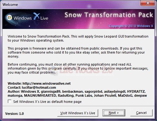 Snow TP