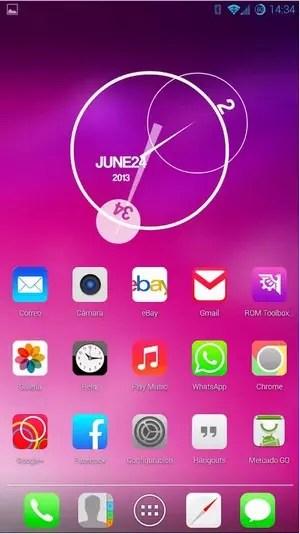 iOS7 theme