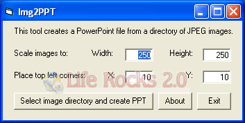 Convert Image to Power Point