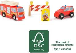 Fire Brigade Set by Small Foot