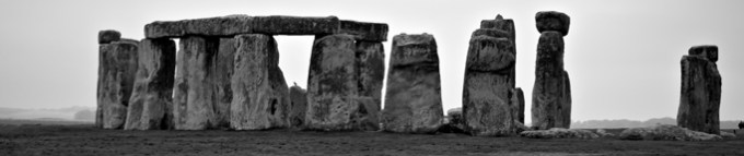 Heading to Pan in the UK, players stop at Stonehenge. (Pre-game, Pan player group)