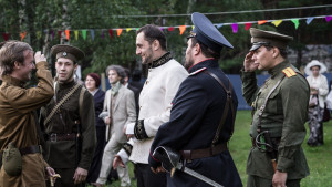 Military and officers (play, Erik Pihl).