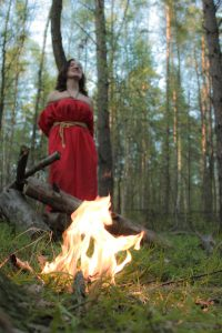 Burning a witch (Play, Alexandra Koval)