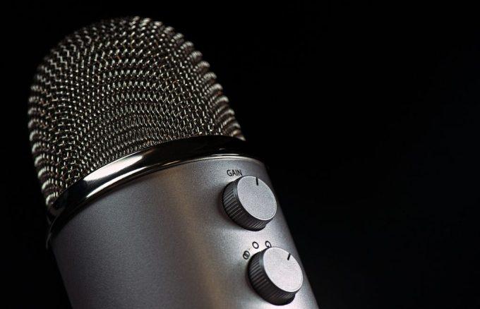 Microphone (photo, public domain)