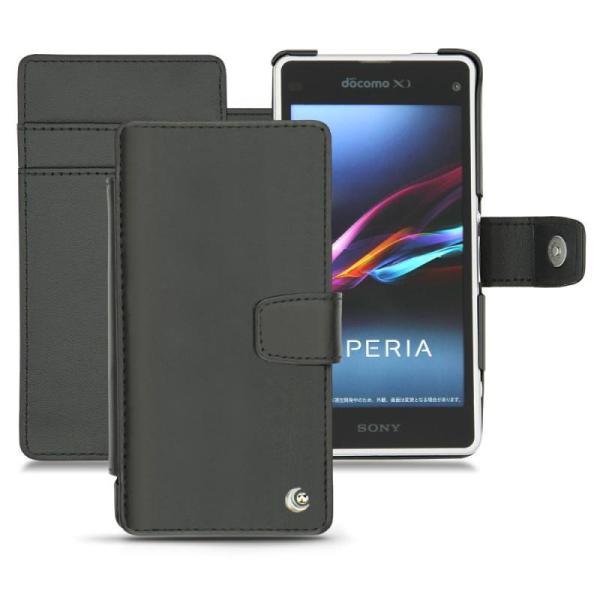 Custodia in pelle Sony Xperia Z1 Compact - Sony Xperia Z1f
