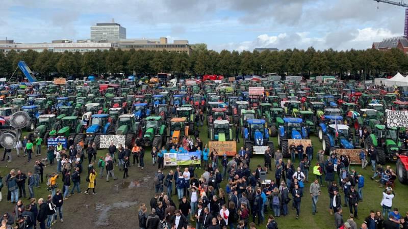 boerenprotest den haag voorbij 2200