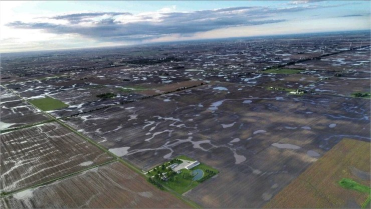 Chuvas Leste Illinois- Chad E. Colby