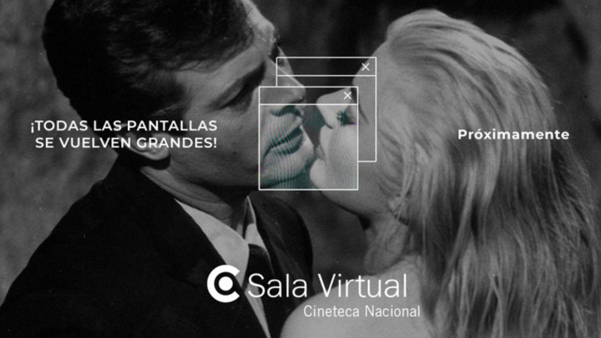 Acceso a Sala Virtual, la nueva plataforma de streaming de la Cineteca Nacional