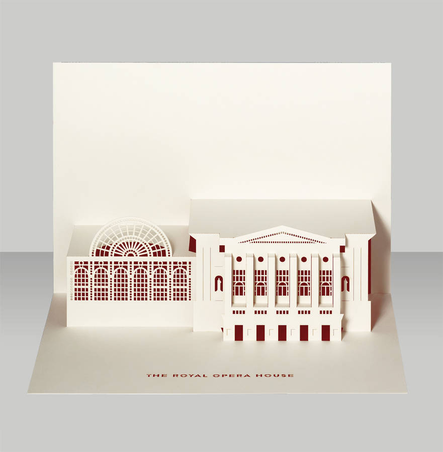 Royal Opera House Pop Up Card By Paper Tango