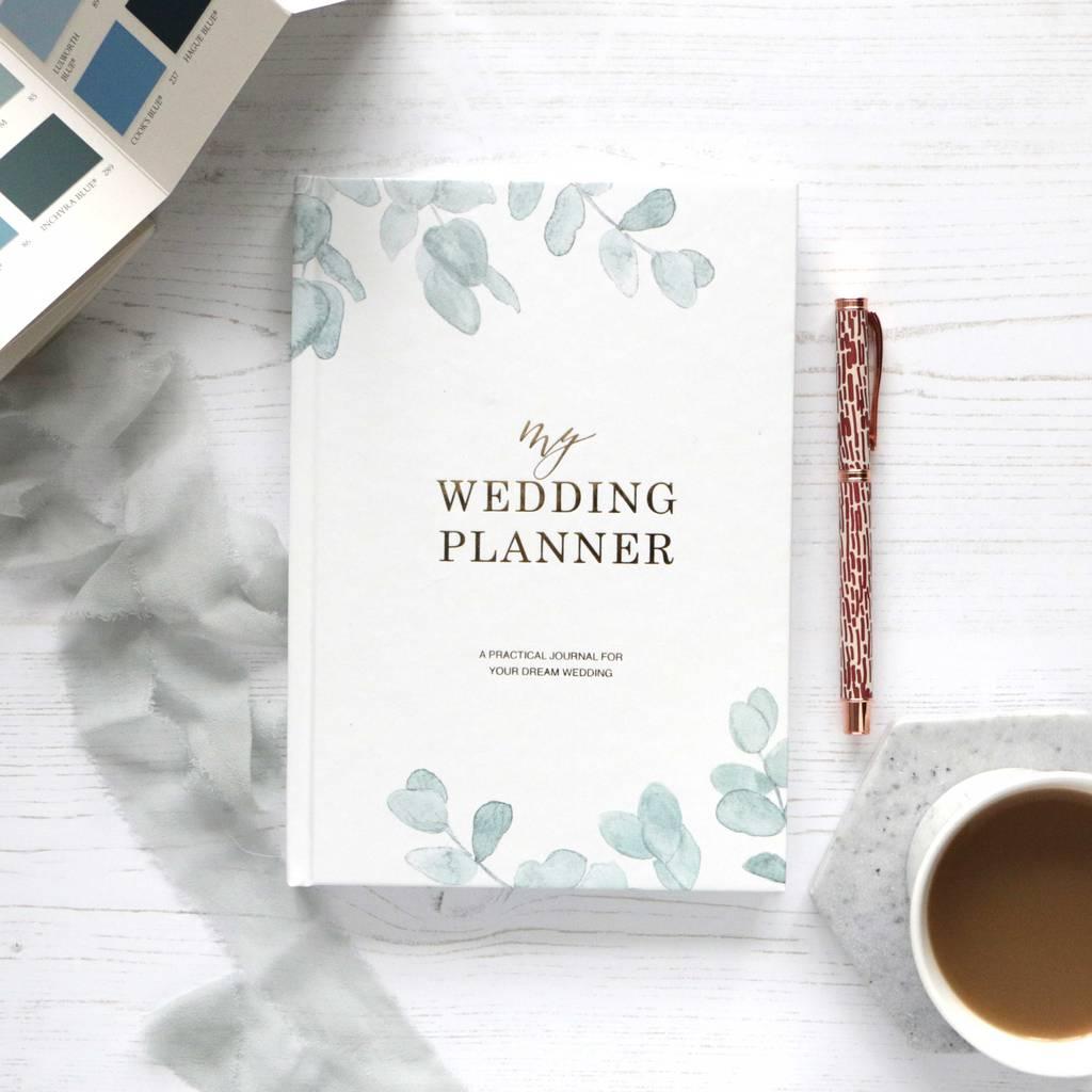 Wedding Planner Book Eucalyptus