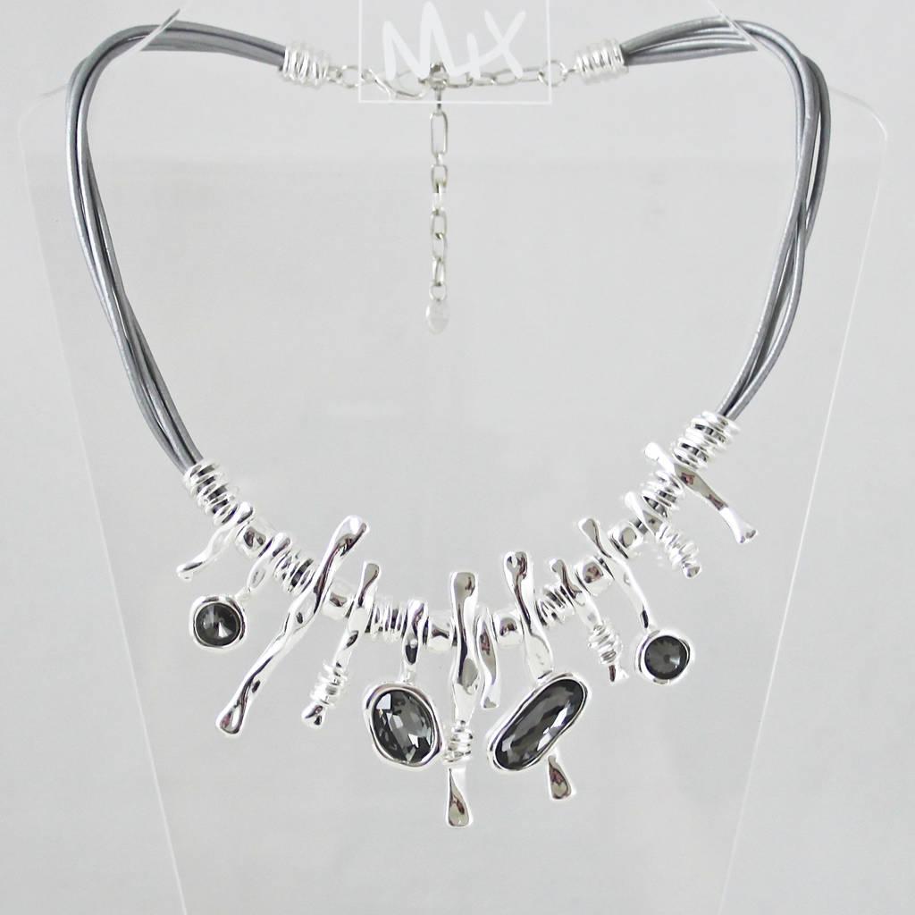 Crystal Stardom Statement Necklace By My Posh Shop